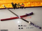 紫绳武士刀 武士刀 高碳钢 ★★★ 标准长度