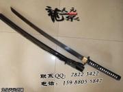 发黑八字武士刀|武士刀|中碳钢|普及版|★★|