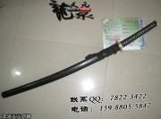 黑檀丁子纹武士刀|武士刀|甲伏锻烧造