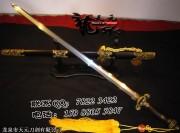 化妆研双龙剑|龙泉宝剑|花纹钢|★★★★|