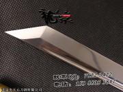 直造7字刀头素唐刀|唐刀|中碳钢|★★★|