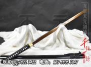 60锰发黑武士唐刀|唐刀|高碳钢|★★