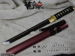 高碳钢短直造武士刀|武士刀|高碳钢|★★★|
