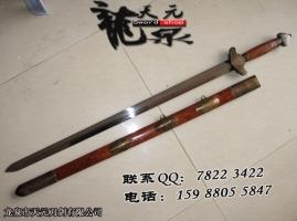 龟背底纹龙泉剑|龙泉宝剑|高碳钢|(60锰)|★★★