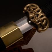 扁柄儡具八面汉剑|汉剑|花纹钢|★★★