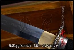 鱼皮鞘乱焰纹武士刀|武士刀|高碳钢烧刃|★★★