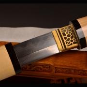 一体装武士刀|武士刀|花纹钢烧刃|★★★