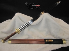 超值汉剑 龙泉天元 龙泉宝剑 【素装汉剑】汉剑 高碳钢 刀剑专卖