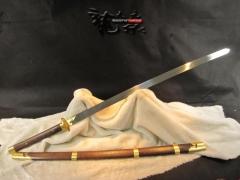 晨练太极刀|苗刀|高碳钢