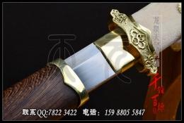 白鱼皮柄复古简装唐刀|唐刀|高碳钢|★★★★