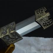 乌木八面汉剑(合金装)|汉剑|高碳钢|★★