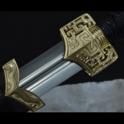 铜装四面小双槽汉剑|汉剑|高碳钢|★★★