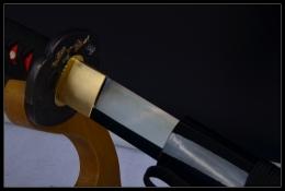 暗香疏影烧刃发黑武士刀|武士刀|高碳钢烧刃|★★