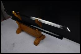黑血机折切刃唐刀升级版|中碳钢|唐刀|★★