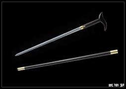 手杖剑之凤首如意 龙泉宝剑 ★★★