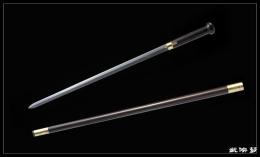 手杖剑之蒜头吉祥|龙泉宝剑|★★★