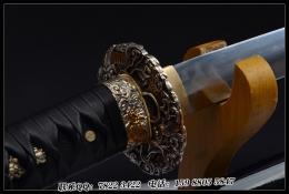 猪首切 密云纹打刀|高碳钢烧刃|武士刀|★★★★