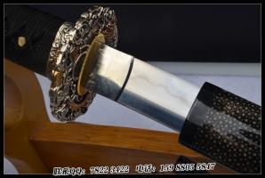 擒龙三枚打刀 精工版|花纹钢夹钢|武士刀|★★★★