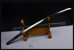 德川一则烧刃武士刀 高碳钢烧刃 武士刀 ★★★★