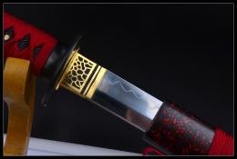 暗红影逸烧刃打刀|高碳钢|武士刀|★★★