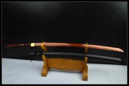 红色武藏血流打刀|高碳钢|武士刀|★★
