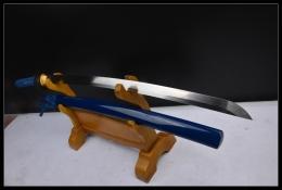蓝色妖姬锰钢打刀|高碳钢|武士刀|★★★