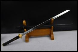黄金甲东洋式直刀|中碳钢|武士刀|★★