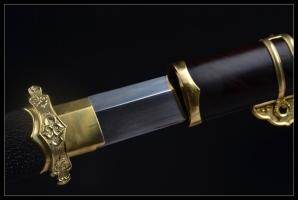花纹钢烧刃简装唐刀|唐刀|花纹钢烧刃|★★★★