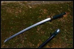 碧血花纹钢武士刀|花纹钢|武士刀|★★★