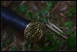 扁柄铜装四面汉剑|汉剑|高碳钢|★★★