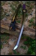 紫影暗风性能武士刀|高碳钢|武士刀|★★★