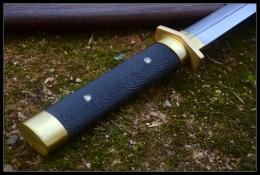 素心剑|高碳花纹钢|龙泉宝剑|★★★
