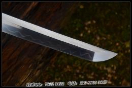 木装一体猪首切武士刀|高碳钢t10|武士刀|★★★