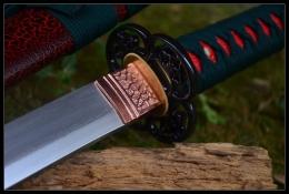 樱花花纹钢武士刀|花纹钢|武士刀|★★★