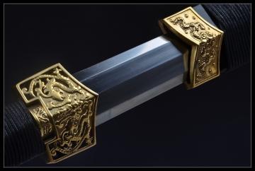 扁柄铜装八面汉剑 高碳钢 ★★★