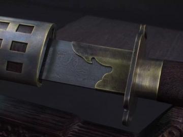 锦衣卫宝刀|花纹钢|明清刀|★★