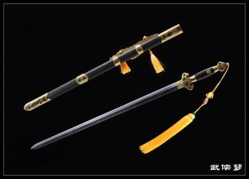 精品传统手工剑|龙泉宝剑|花纹钢|★★★★