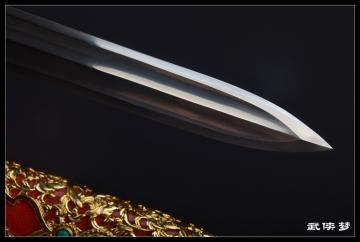 精装冥王剑 花纹钢 汉剑