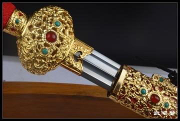 精装冥王剑|花纹钢|汉剑