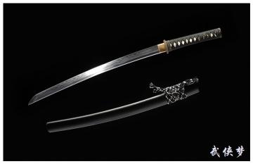 高碳钢烧刃萨摩肋差|武士刀|高碳钢|★★★