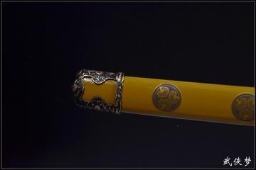 大明野太刀|精工花纹钢|武士刀|★★★★