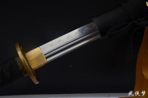 鹈首造长野刀|花纹钢烧刃|武士刀|★★★