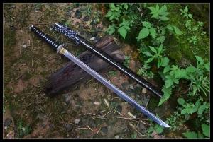 御龙武士直刀|武士刀|唐刀|高碳钢|★★★