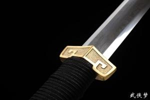 中款青霜八面汉剑|花纹钢|汉剑|★★★