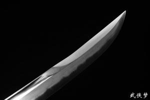 全银手工雕手工乾隆御用佩刀|清刀|★★★★★