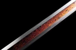 大明御龙刀|中国名刀|花纹钢