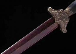 松鹤剑溢彩款|花纹钢|龙泉宝剑