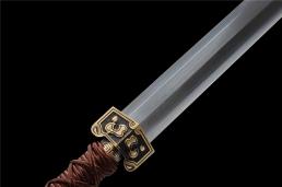 经典百炼钢八面汉剑|汉剑|花纹钢|★★★