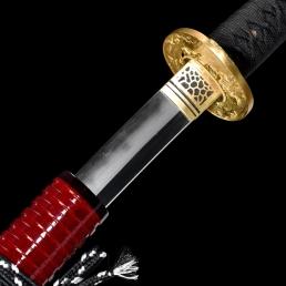 精品三枚合夹钢化妆研武士刀|武士刀|三枚合|★★★★