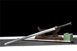 金属鞘长龙汉剑 汉剑 碳钢 金属鞘金属柄 未开刃
